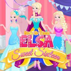 Now & Then Elsa Sweet Sixteen