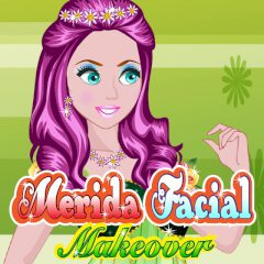 Merida Facial Makeover