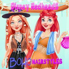 Disney Redheads Boho Hairstyles