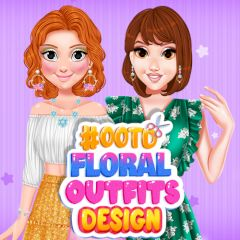 #OOTD Floral Outfits Design