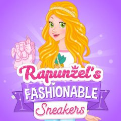 Rapunzel's Fashionable Sheakers