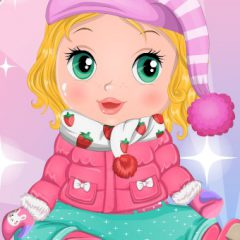 Baby Bonnie Bubble Jacket