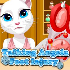 Talking Angela Foot Injury