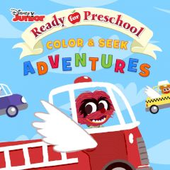 Disney Ready for Preschool Color & Seek Adventures