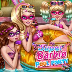 Super Barbie Pool Party