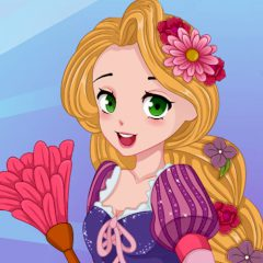 Rapunzel House Makeover
