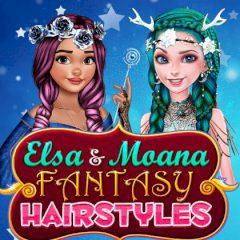 Elsa & Moana Fantasy Hairstyles