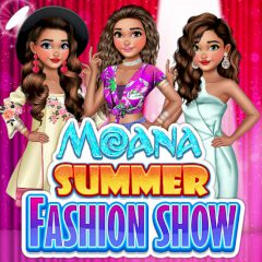 Moana Summer Fashion Show