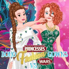 Princesses Fashion Wars Boho vs Gowns
