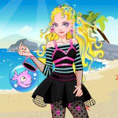 It Girl Dress up like Lagoona Blue