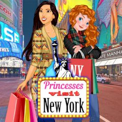 Princesses Visit New York