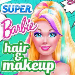 Super Barbie Hair & Makeup