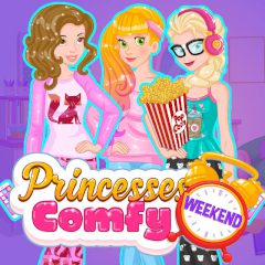 Princesses Comfy Weekend