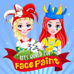 BFFs World Cup Face Paint