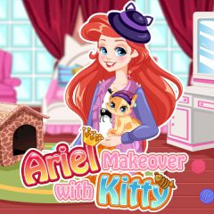 Ariel Makeover with Kitty