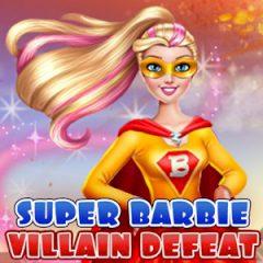 Super Barbie Villain Defeat