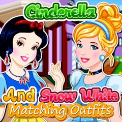Cinderella and Snow White Matching Outfits