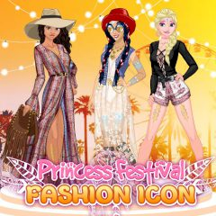 Princess Festival Fashion Icon